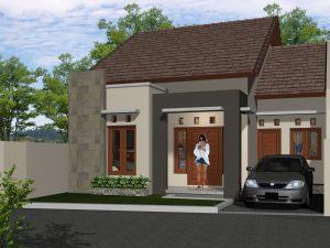 Contoh Rumah Minimalis Modern 1 Lantai
