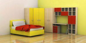 Rancangan Desain Interior Kamar Tidur Anak Terkini